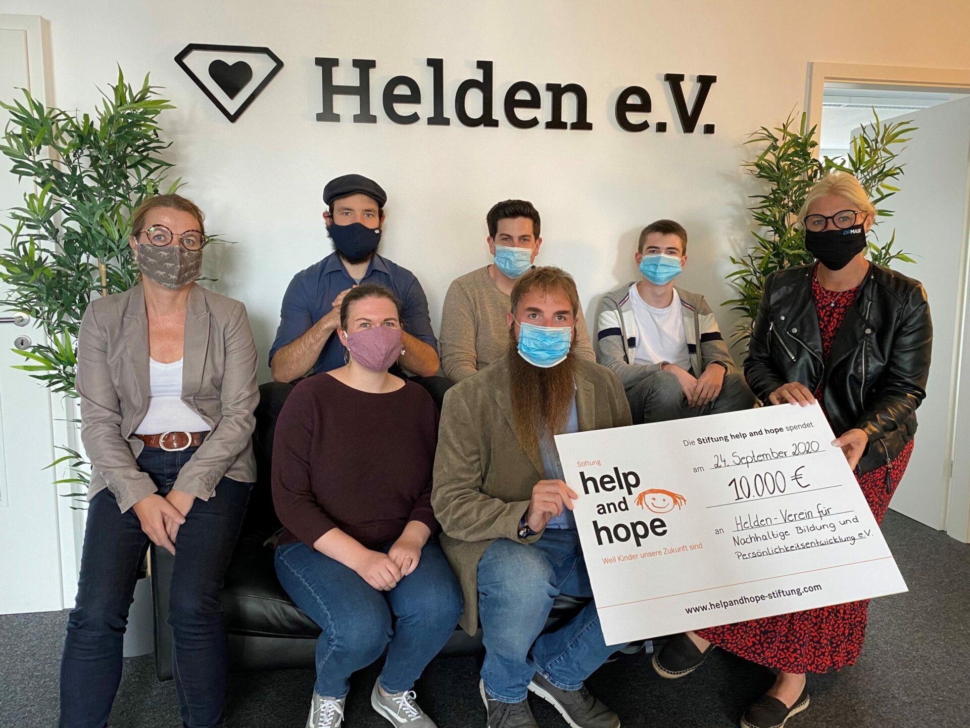 help and hope vergibt Förderpreis in Höhe von 10.000 Euro