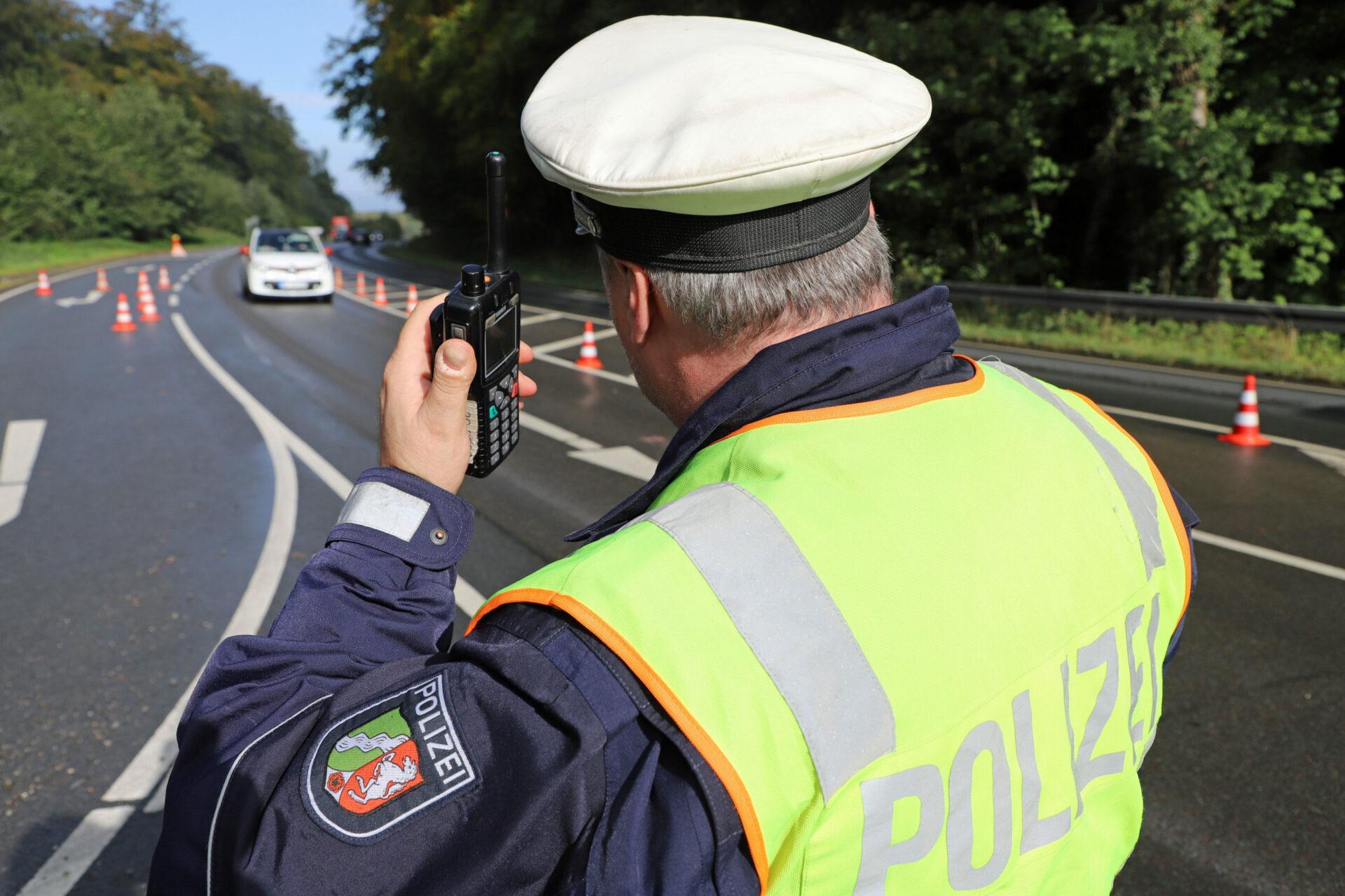 Schwerpunkteinsatz am Freischütz: Polizei zieht rumänischen Lkw aus dem Verkehr