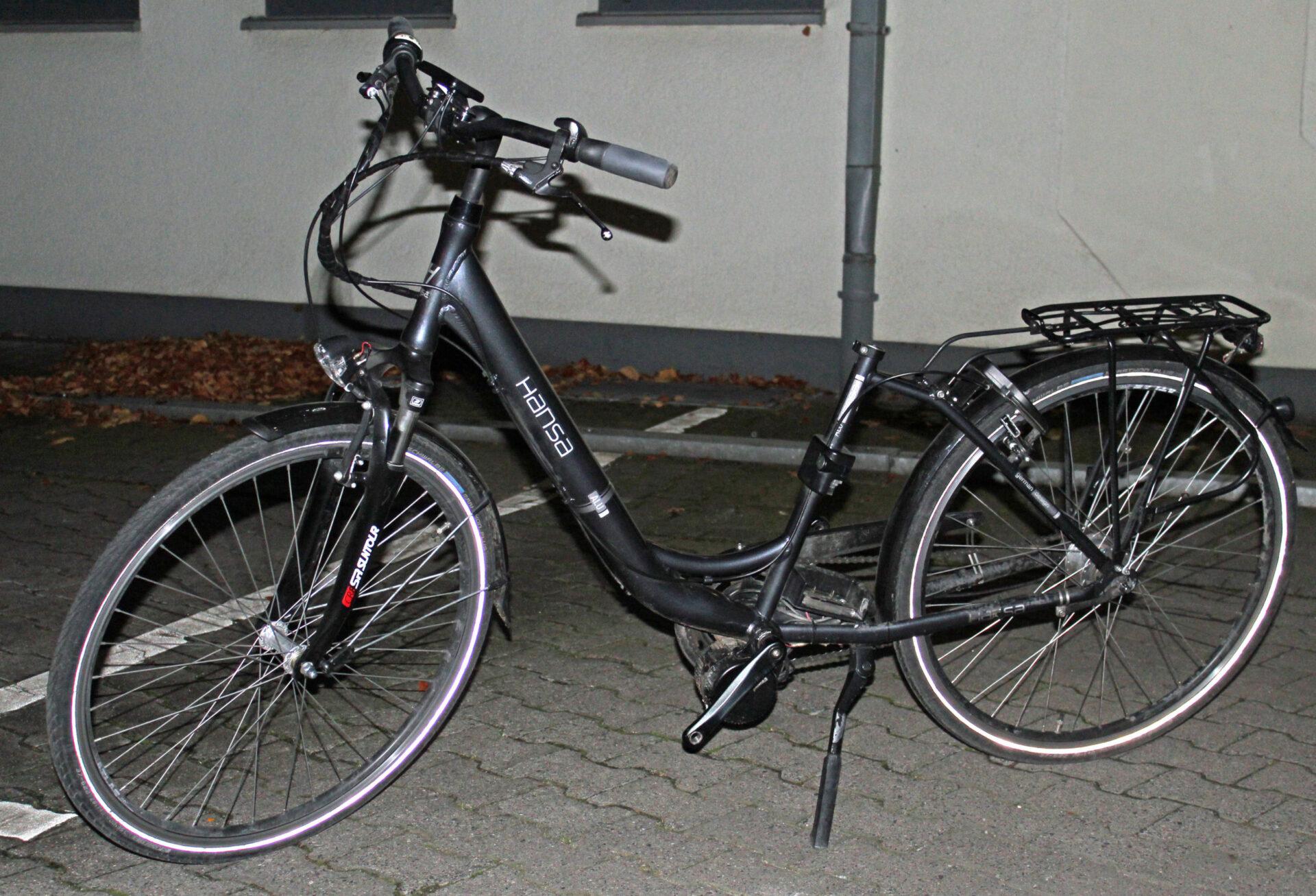 Neuwertiges E-Bike gefunden: Wem gehört es?