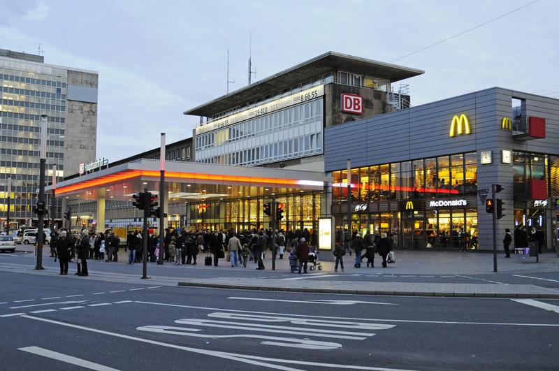 Bundespolizei nimmt Räuber aus Schwerte im Essener Hauptbahnhof fest