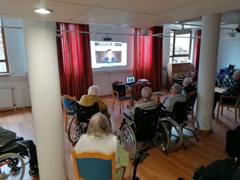 Bundesweiter Vorlesetag im Klara-Röhrscheidt-Haus