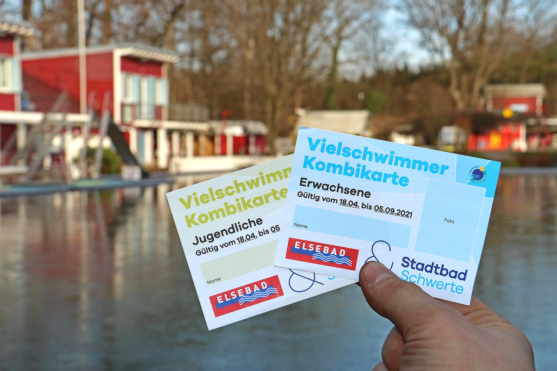 Vielschwimmerkarte für Elsebad und Stadtbad