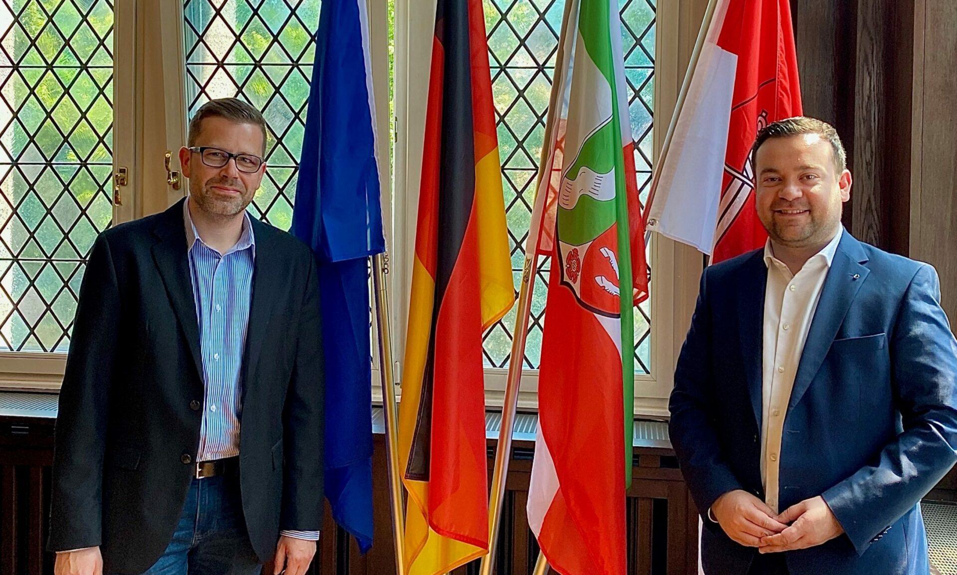 Bürgerdienst hat einen neuen Leiter: Daniel Lindemann übernimmt
