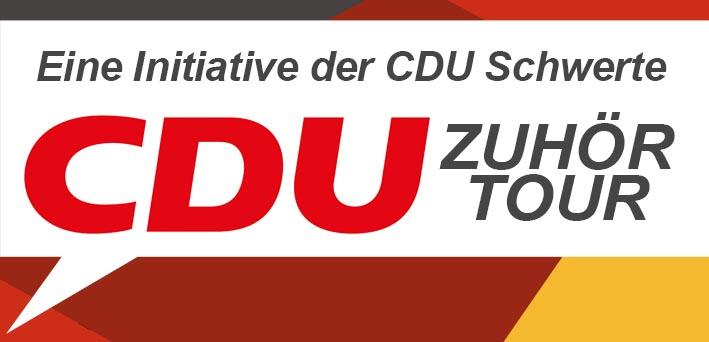 CDU will mit Zuhörtour ins Gespräch mit Bürgern kommen