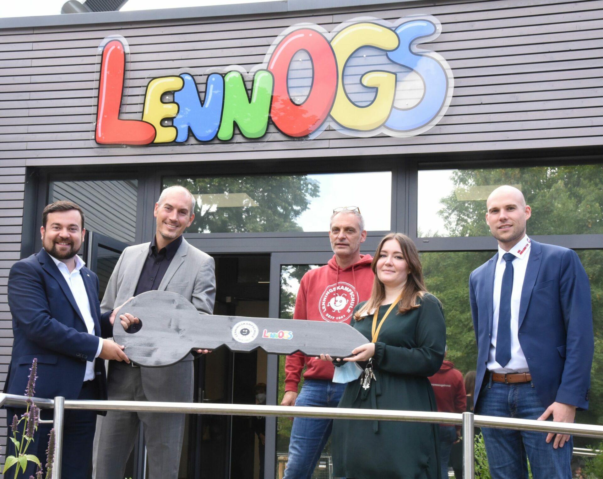 LennOGS: Neue Offene Ganztagsschule öffnete ihre Türen