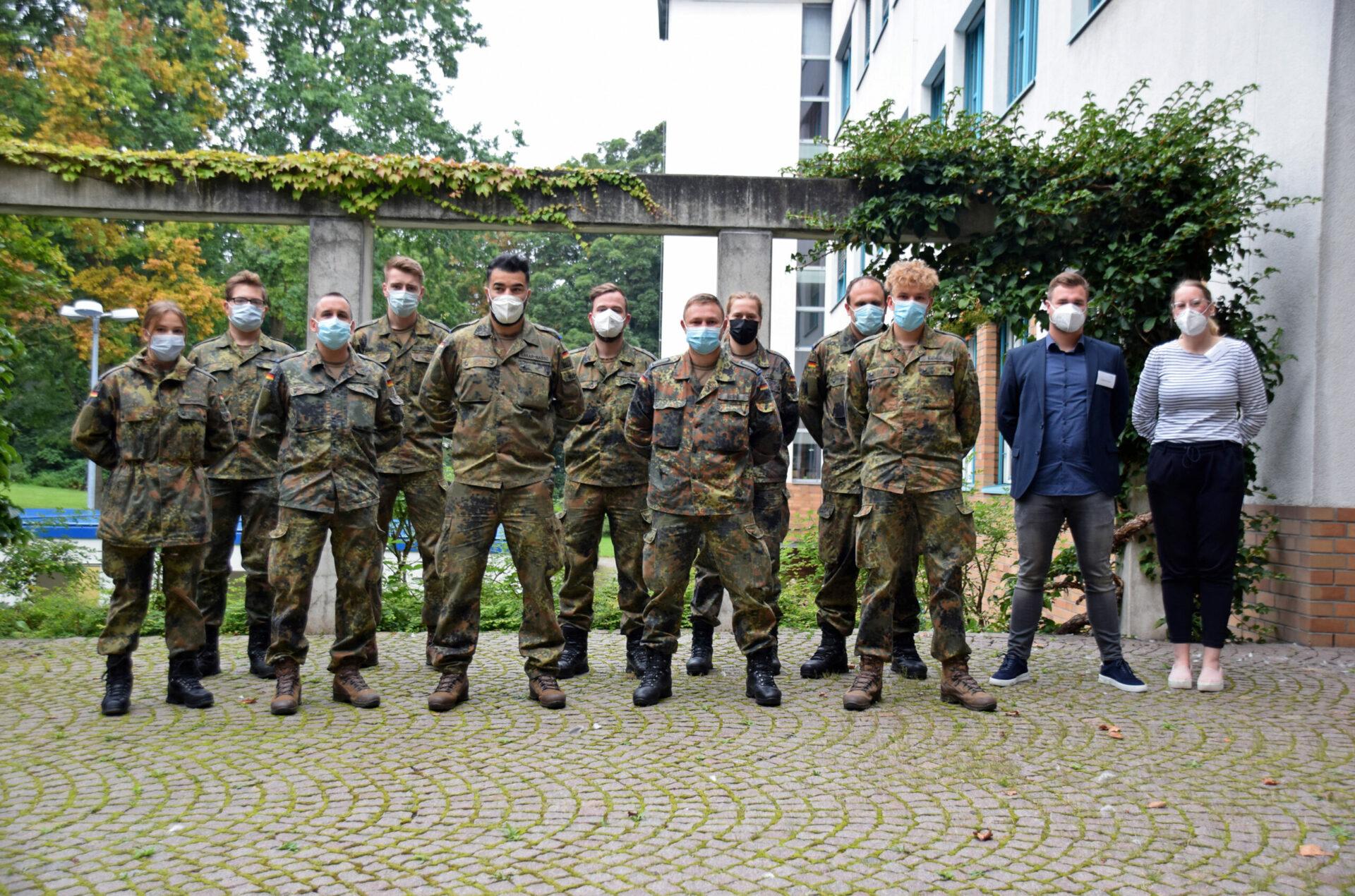 Corona-Pandemie im Kreis Unna – Bundeswehr verstärkt Gesundheitsamt