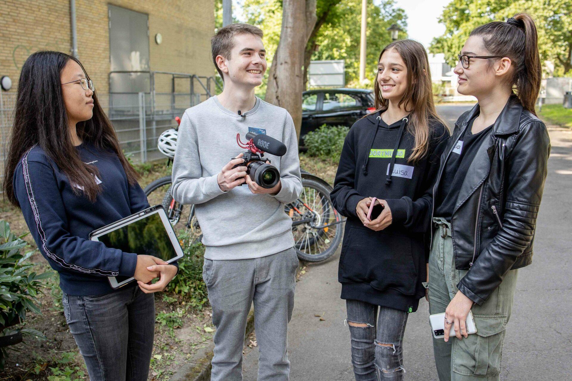Videowettbewerb: Jugendliche drehen Videos gegen Cybermobbing