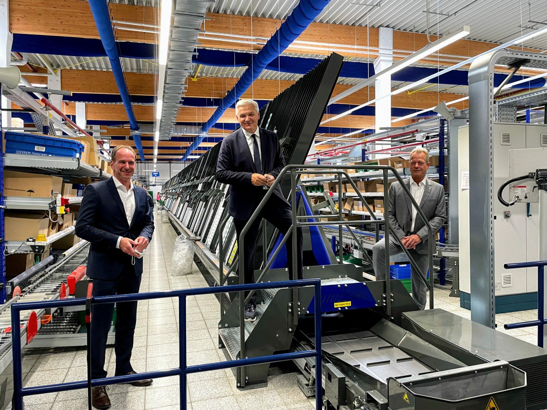 """""""Deutschland wieder zur Apotheke der Welt machen"""" – CDU-Bundestagskandidat Hubert Hüppe besucht Pharma- Großhändler NOWEDA in Schwerte"""