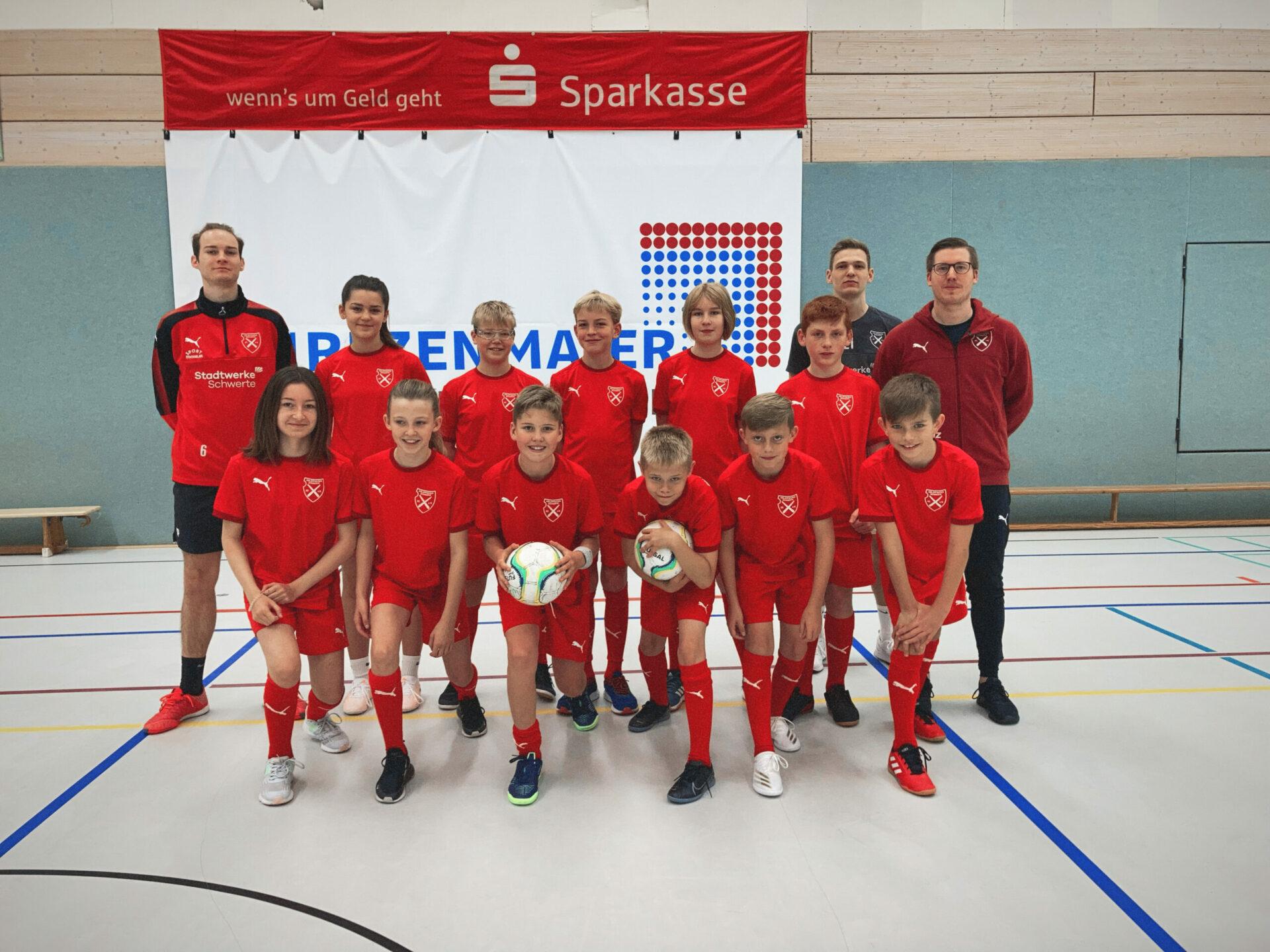 Premiere voller Erfolg: Holzpfosten-Futsal-Feriencamp