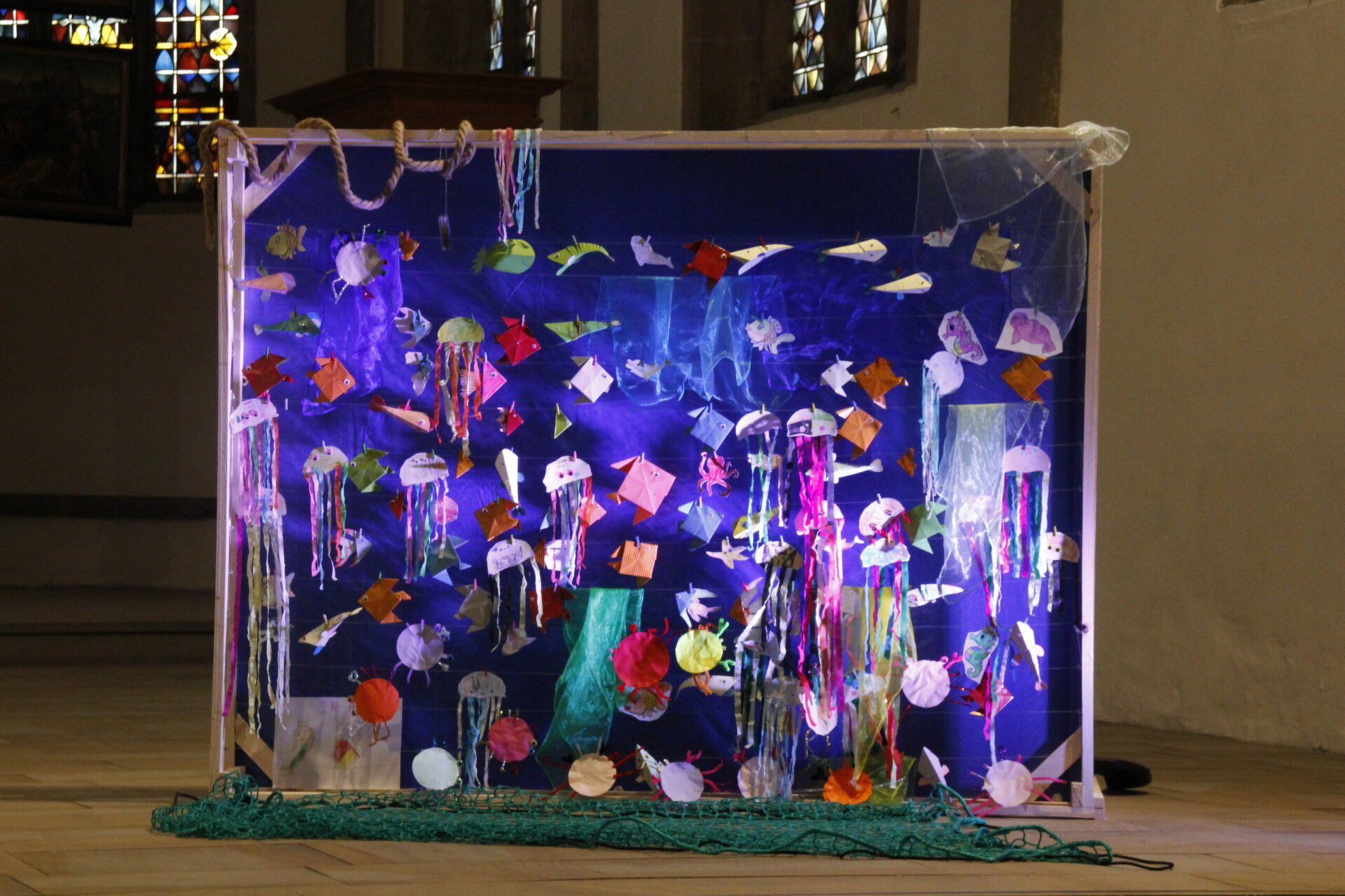 Ein See in der Kirche – Kinderbibeltage der Ev. Kirchengemeinde Schwerte