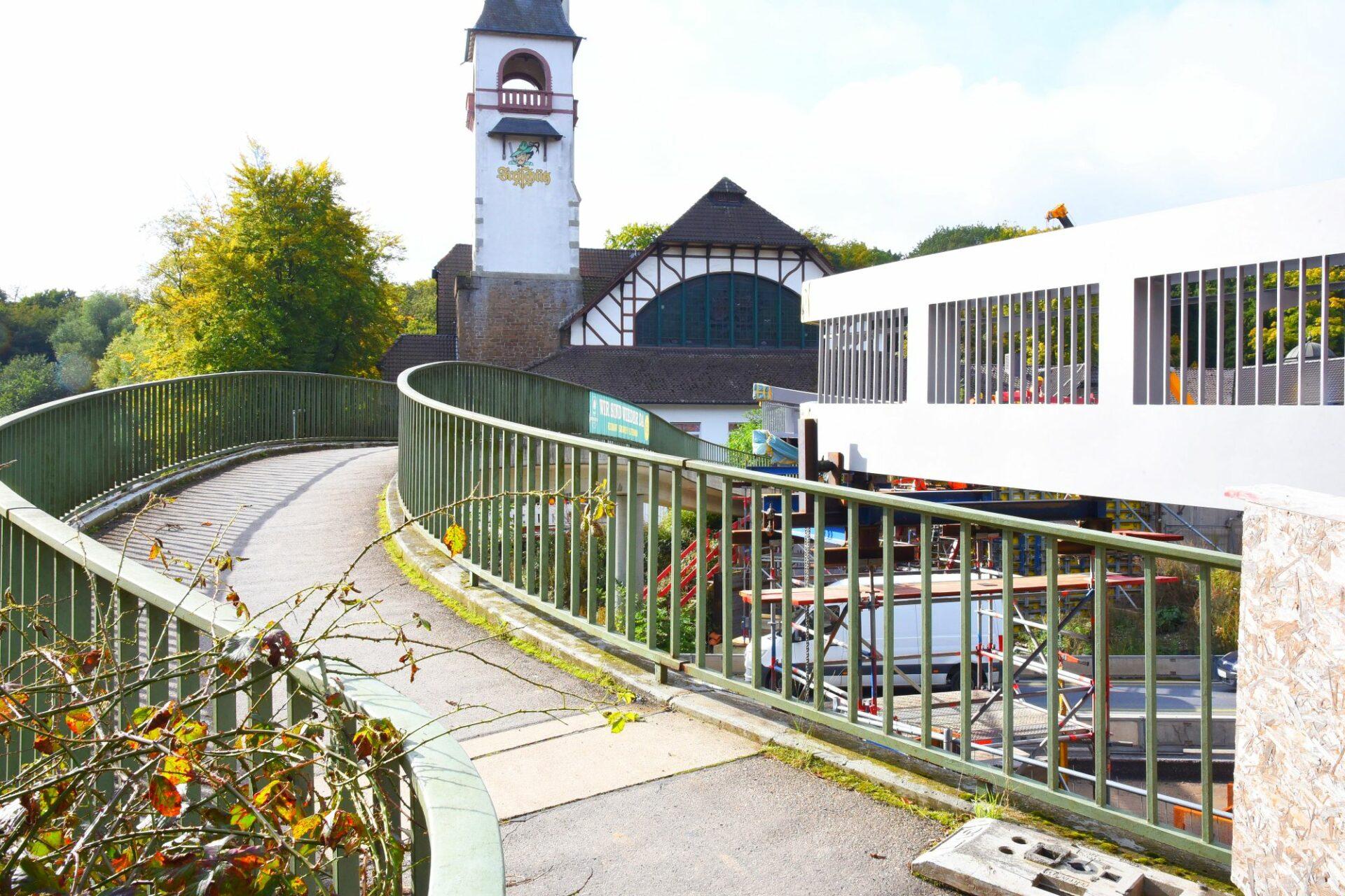 Brückenbauarbeiten: B236 wird an zwei Wochenenden voll gesperrt
