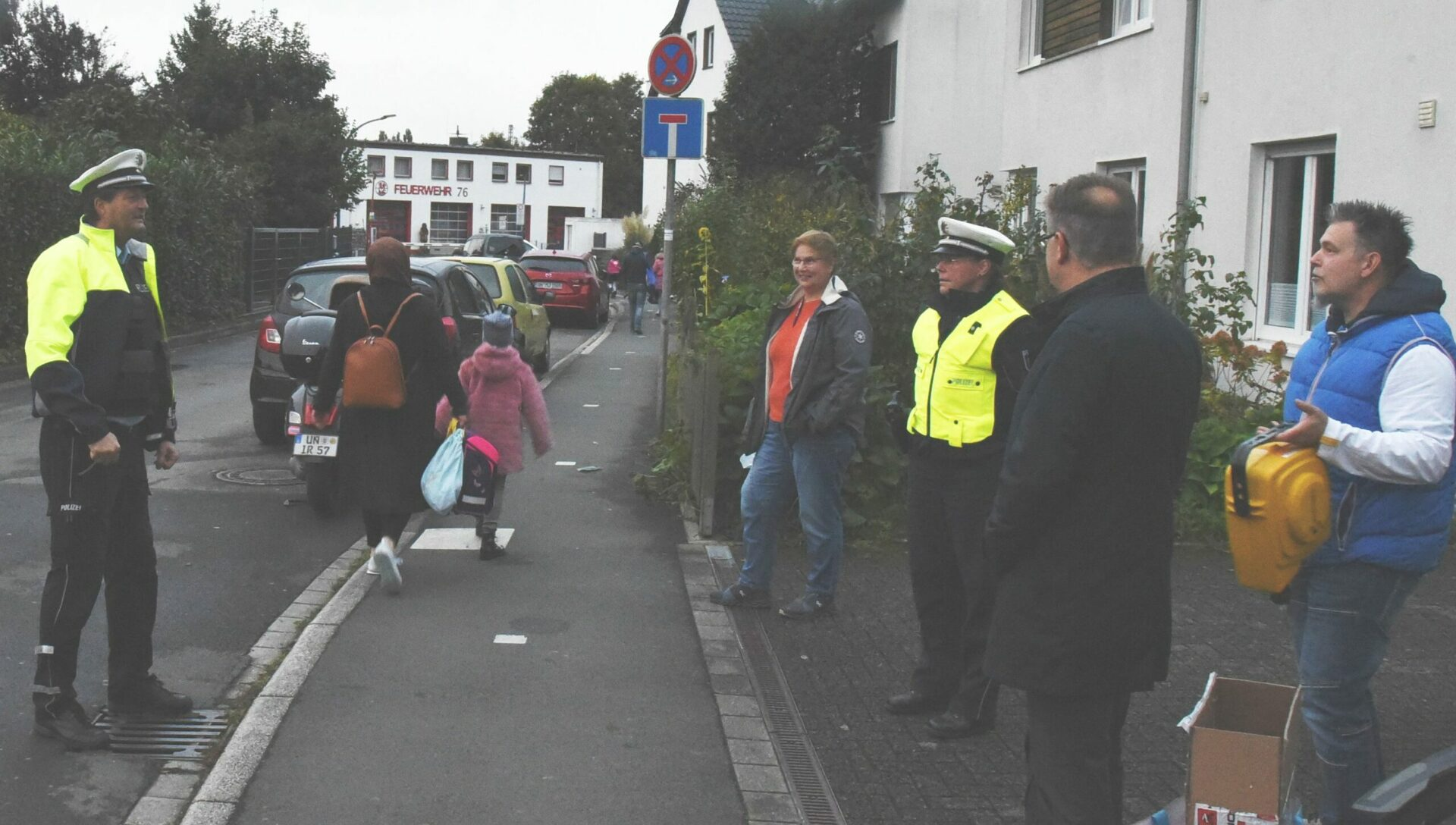 Für mehr Sicherheit in Westhofen: Ein- und Aussteigen an der Elternhaltestelle